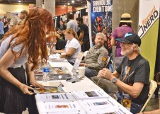 Marv Wolfman makes a fan's day.