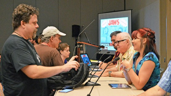 Phoenix Comicon Jaws Panel