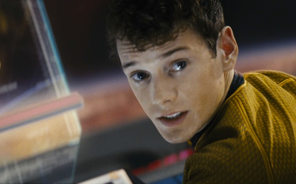 Anton Yelchin in Star Trek