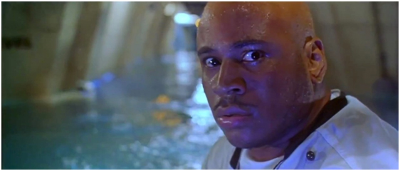 Caption: LL Cool J would very much like to know who he files an HR complaint with at Aquatica Base.
