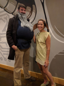 Cursed Child release party - Hagrid and Dobby