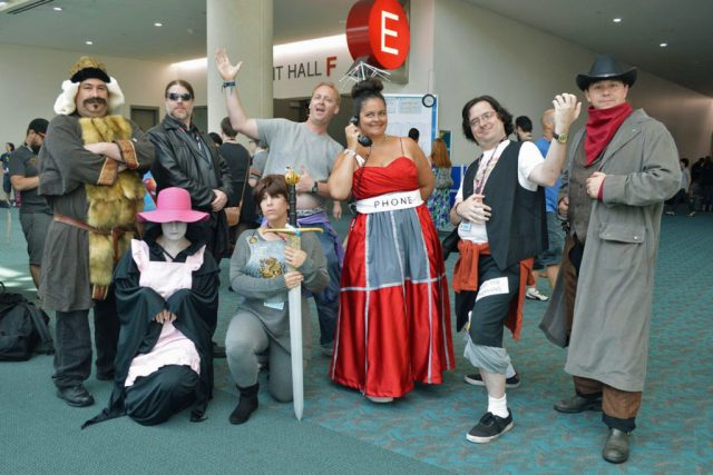 'E' is for 'Excellent Adventure' at San Diego Comic-Con 2016