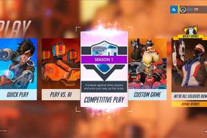 Overwatch competitive play (Blizzard)