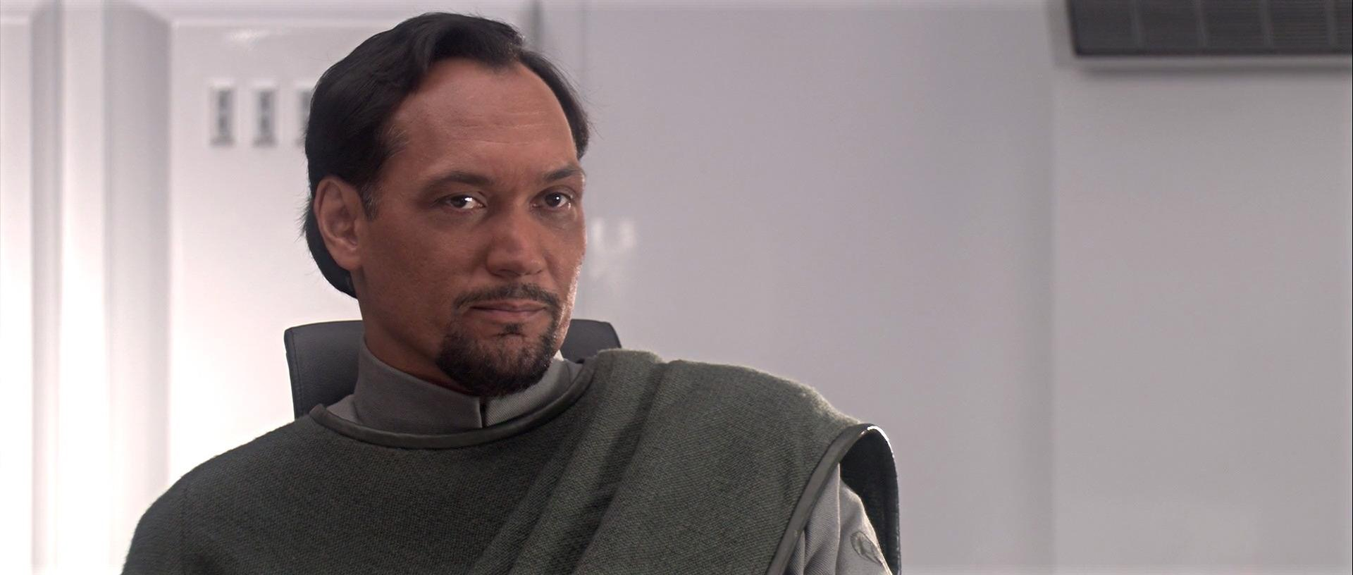 Jimmy Smits as Bail Organa in Star Wars: Episode III - Revenge of the Sith