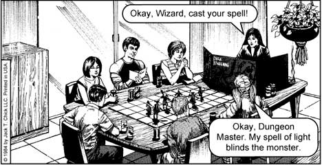 Dark Dungeons by Jack Chick track