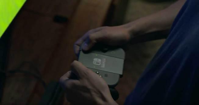 Nintendo Switch controller assembled