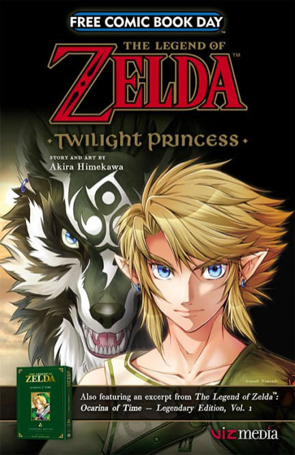 Zelda Twilight Princess Free Comic Book Day 2017