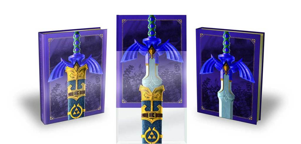 The Legend of Zelda: Art & Artifacts, Master Sword edition