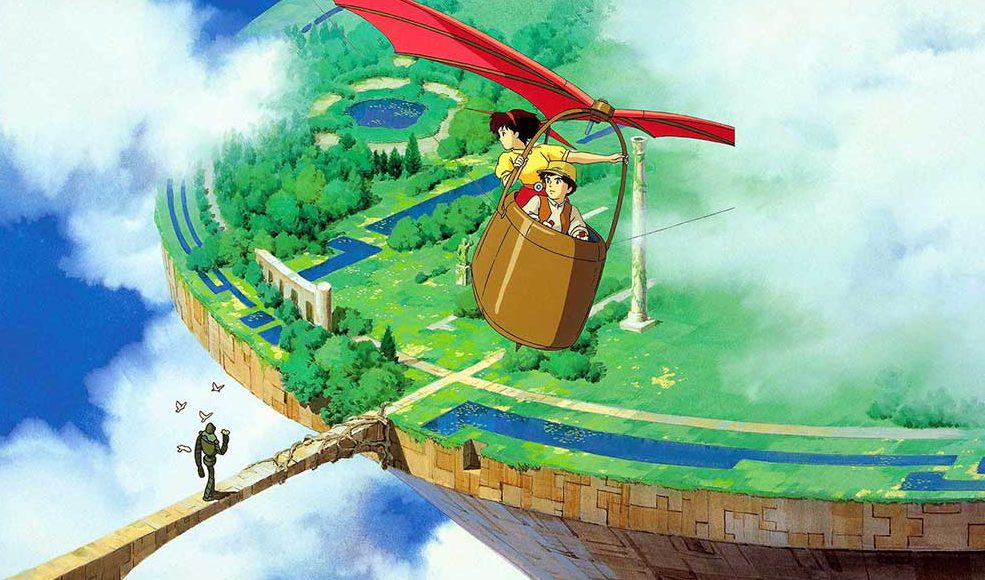 Castle in the Sky (1986): Aug. 27, 28 and 30