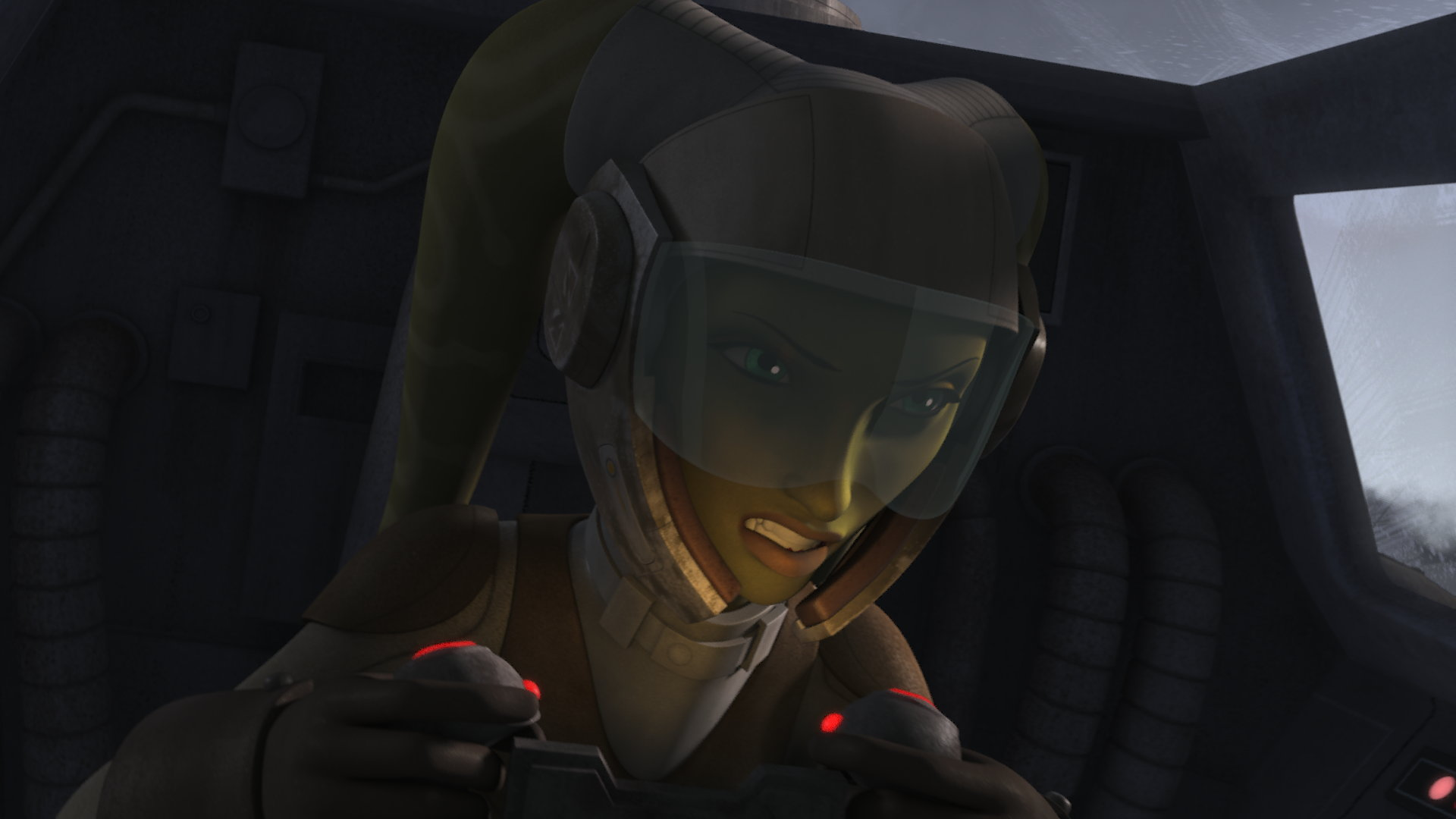Hera Syndulla is voiced by Vanessa Marshall