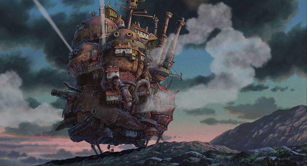Howl's Moving Castle (2004) Studio Ghibli