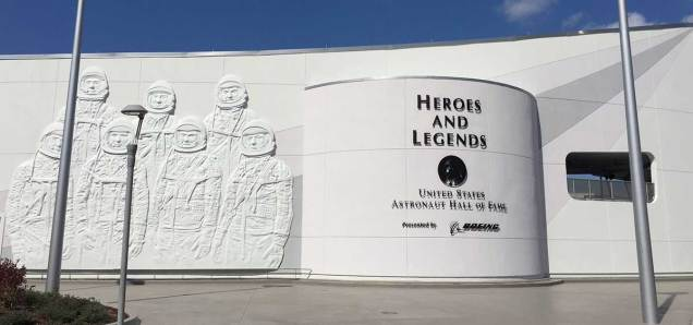 The Kennedy Space Center's Heroes & Legends exhibit.