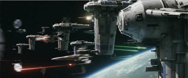 Space battles return in the trailer for Star Wars: Episode VIII - The Last Jedi