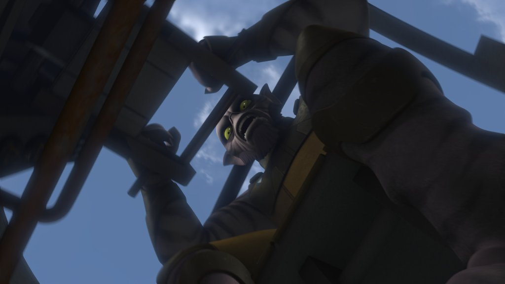 Star Wars Rebels: Zeb Orellios, wise(ass) uncle