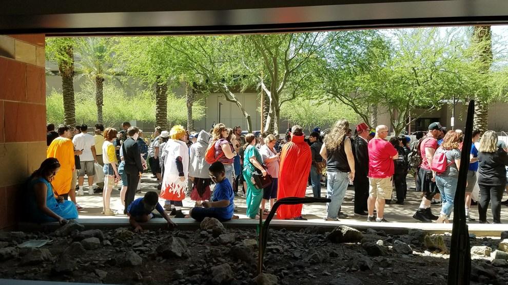 Phoenix Comicon 2017 – photo by Bob Leeper