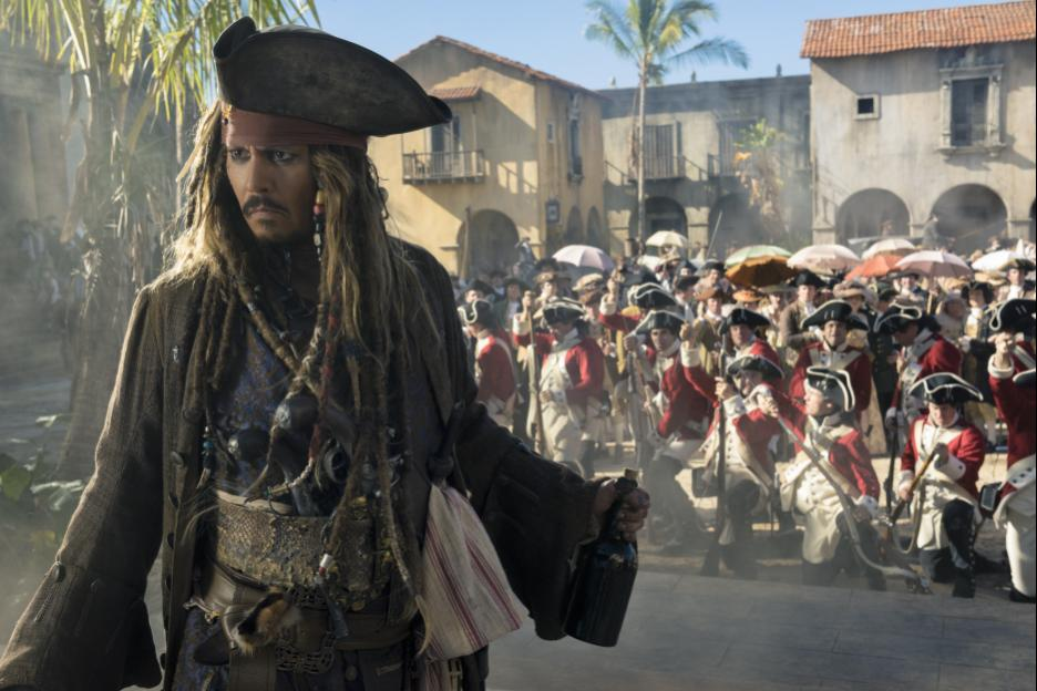 Pirates of The Caribbean: Swashbuckling adventure