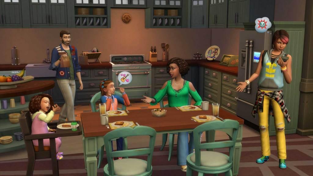The Sims 4: Parenthood'