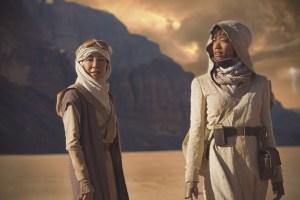 Star Trek: Discovery - Georgiou and Burnham