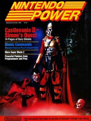 Nintendo Power No. 2 - Castlevania II: Simon's Quest