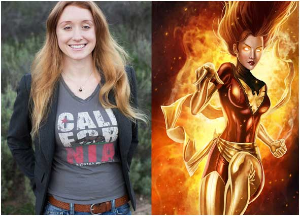 Why has mild mannered scientist Jess Phoenix never been photographed with Dark Phoenix?