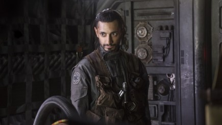 Riz Ahmed as Bodhi Rook in Rogue One: A Star Wars Story