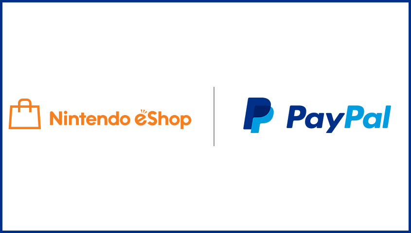 Nintendo eShop and PayPal