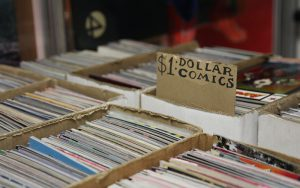 Domestic sales of comics and graphic novels have been rising for years, reaching $870 million last year, up from $265 million in 2000, according to Business Insider. (Photo by Maddy Ryan/Cronkite News)