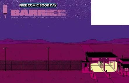 BARRIER #1 Image Comics