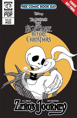 THE NIGHTMARE BEFORE CHRISTMAS: ZERO'S JOURNEY CHAPTER 0 Tokyopop
