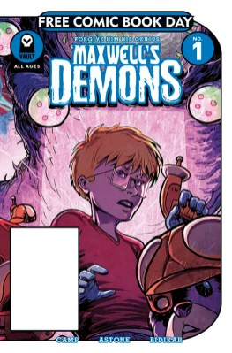 MAXWELL'S DEMONS #1 Vault Comics