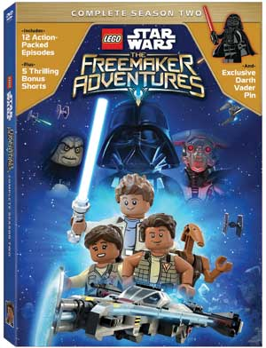 LEGO Star Wars: The Freemaker Adventures Season 2 on DVD March 13