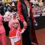 This One Piece cosplaying pair were in good company with other fans of the series.