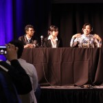 Voice actress Satomi Arai was excited to discuss her experiences during her panel.
