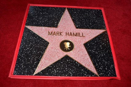 HOLLYWOOD, CA - MARCH 08: Mark Hamill is Honored with Star on the Hollywood Walk of Fame on March 8, 2018 at Hollywood Walk Of Fame in Hollywood, California. (Photo by Alberto E. Rodriguez/Getty Images for Disney)