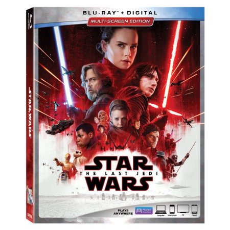 Star Wars: The Last Jedi finally out on DVD and Blu-Ray