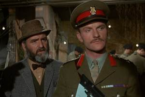 Andrew Keir and Julian Glover inFive Million Years to Earth,akaQuatermass and the Pit.