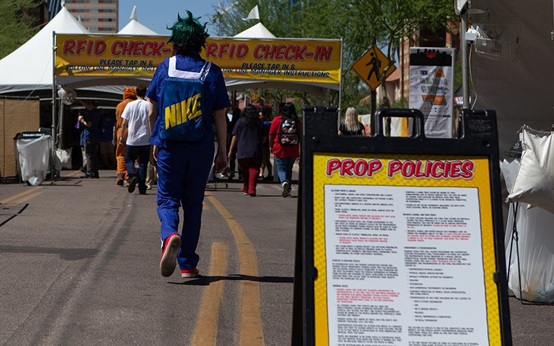 Phoenix Comic Fest, formerly known as Phoenix Comicon, has implemented security changes. (Photo by Nick Serpa/Cronkite News)