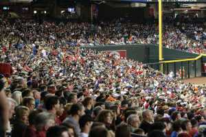 Fans attending sporting events could also be legally betting on them in the future in Arizona. How will the media cover betting? (Kevin Jimenez/Cronkite News)