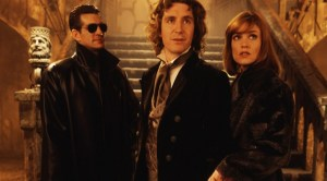 "Eric Roberts, Paul McGann and Daphne Ashbrooke in the 1996 Fox TV movie ""Doctor Who."""