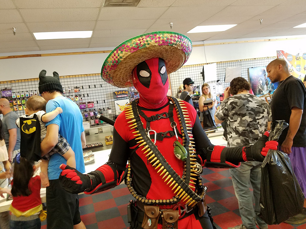 Free Comic Book Day / Cinco de Mayor at Jesse James Comic