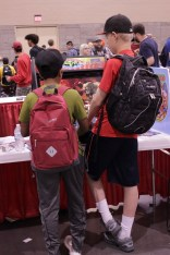 Places to casually play arcade games were never in short supply on the vendor hall floor. Photo by Christen Bejar.