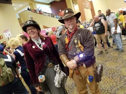 Western-Steampunk cosplay
