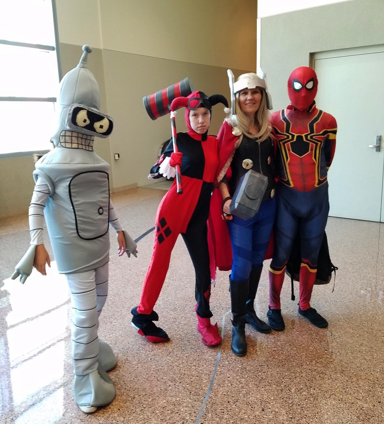 A family that cos-plays together, stays together at Phoenix Comic Fest, Friday, May 25, 2018, at the Phoenix Convention Center.