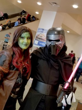 It was only a matter of time before the Guardians entered the Galaxy Far, Far Away, at Phoenix Comic Fest, Friday, May 25, 2018, at the Phoenix Convention Center.