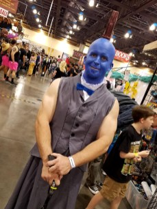 A dapper Yondu Udonta cosplayer at Phoenix Comic Fest, Saturday, May 26, 2018, at the Phoenix Convention Center.