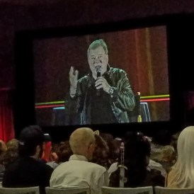 Fans listen as William Shatner speaks at his panel at Phoenix Comic Fest, Saturday, May 26, 2018, at the Phoenix Convention Center.