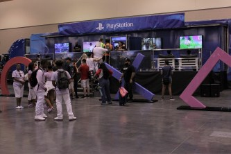 The Playstation Experience allowed attendees to play new titles such as God of War and Detroit: Become Human. Photo by Christen Bejar.