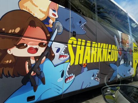 Sharknado Bus at San Diego Comic-Con 2018