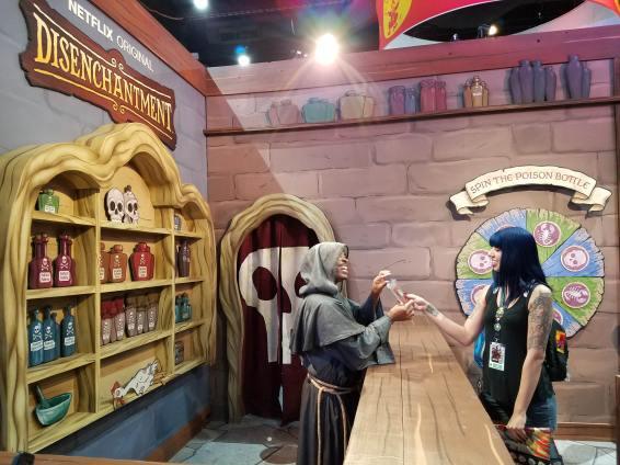 Disenchantment at San Diego Comic-Con 2018
