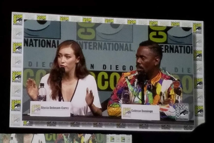 Alycia Debnam-Carey and Colman Domingo